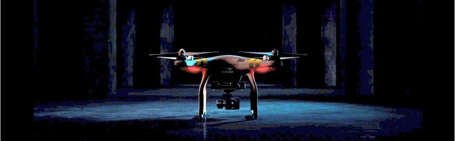 AERcast drone preparing for flight
