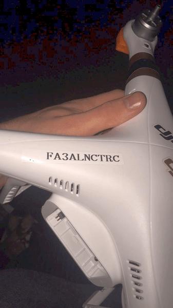 AERcast Drone Registration Number